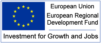 ERDF - European Union European Regional Development Fund. Investment for Growth and Jobs